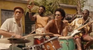 """Bruno Mars and Anderson .Paak roll out in Silk Sonic's """"Skate"""" video"""
