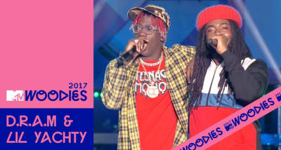 Watch Lil Yachty And D.R.A.M. Perform A Medley Of Hits At The MTV Woodies