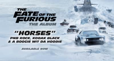 """Listen To Kodak Black, PnB Rock, And A Boogie's New Song """"Horses"""""""
