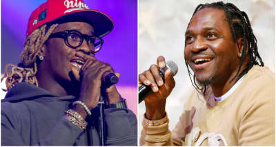 Young Thug and Pusha-T trade Instagram shots over Drake diss on leaked Pop Smoke song