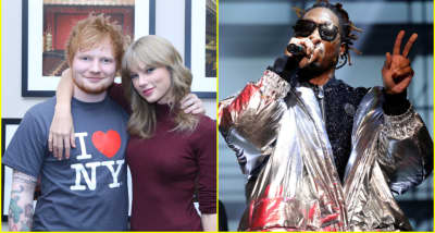 Taylor Swift's reputation includes a collaboration with Future and Ed Sheeran