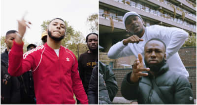 Yizzy and JME's new video pays tribute to the grime classics