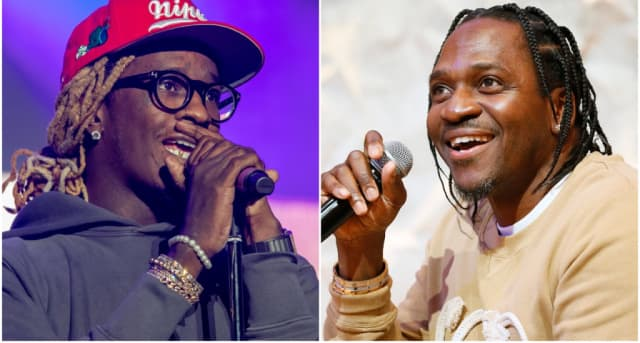 Young Thug and Pusha-T trade Instagram shots over Drake diss on leaked Pop Smoke song 1