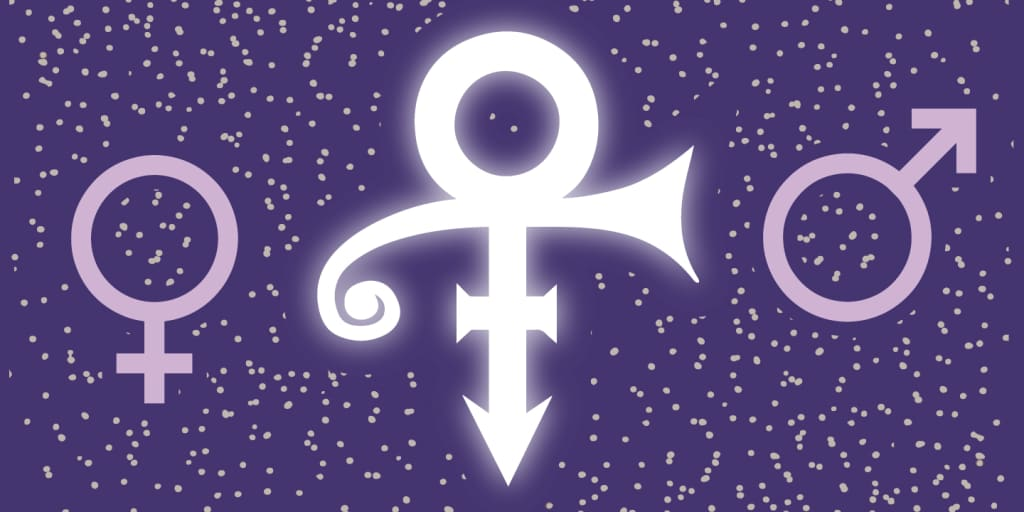 The Higher Meaning Behind Princes Love Symbol The Fader