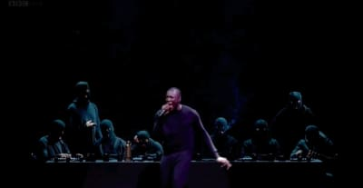 Stormzy Recreated His Album Cover In His Stunning Mercury Prize Performance