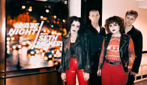 "Watch Pale Waves perform ""Eighteen"" on Seth Meyers"