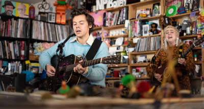 Watch Harry Styles' NPR Tiny Desk Concert