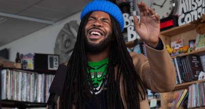 Watch D.R.A.M.'s NPR Tiny Desk Concert
