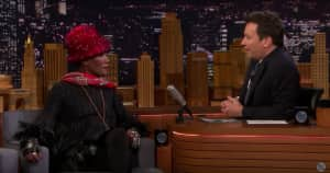 Grace Jones explains why she spent 12 years on her new documentary in Tonight Show interview