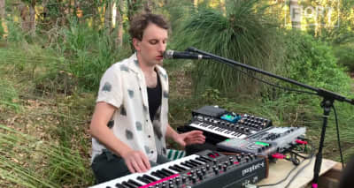 "Digital FORT: Methyl Ethel's ""Castigat Ridendo Mores"" gets its debut in the Western Australia bush"