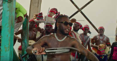 "Watch Burna Boy get crowned in the video for ""Odogwu"""
