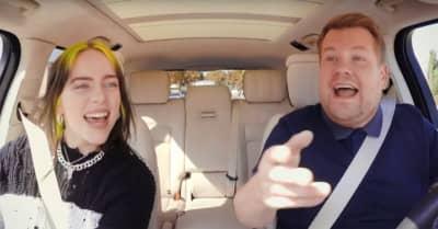 Watch Billie Eilish on Carpool Karaoke