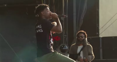 Watch 21 Savage and Childish Gambino perform together at Lollapalooza