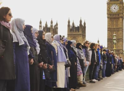 Women Came Together In London To Honor Westminster Attack Victims