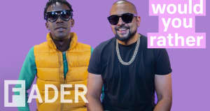 Sean Paul and Chi Ching Ching debate cloning themselves, Jamaican parties, and more on Would You Rather