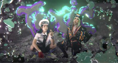 "Pussy Riot enlist Dorian Electra and 100 gecs' Dylan Brady for ""Toxic"""
