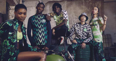 Nike's rad For Naija collection drops tomorrow