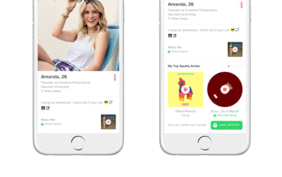 You Can Add A Song From Spotify To Your Tinder Profile Now