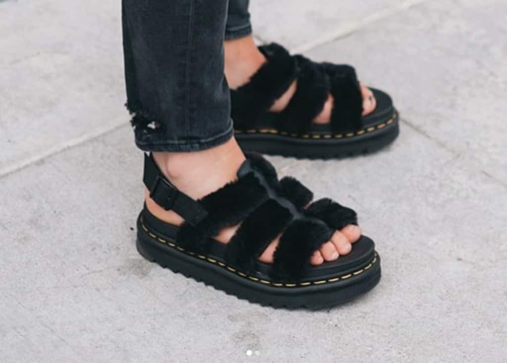 389bf6721c273 Alert: You need these fluffy Dr. Martens sandals this summer | The FADER