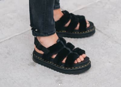Alert: You need these fluffy Dr. Martens sandals this summer