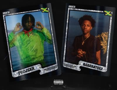 "Rising Jamaican stars Projexx and Bakersteez connect on ""Bigga League"""