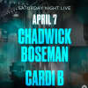Chadwick Boseman and Cardi B are coming to SNL