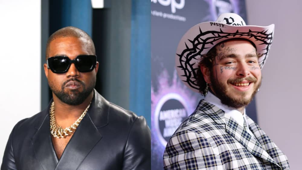 Kanye West is in the studio with Post Malone and Fleet Foxes