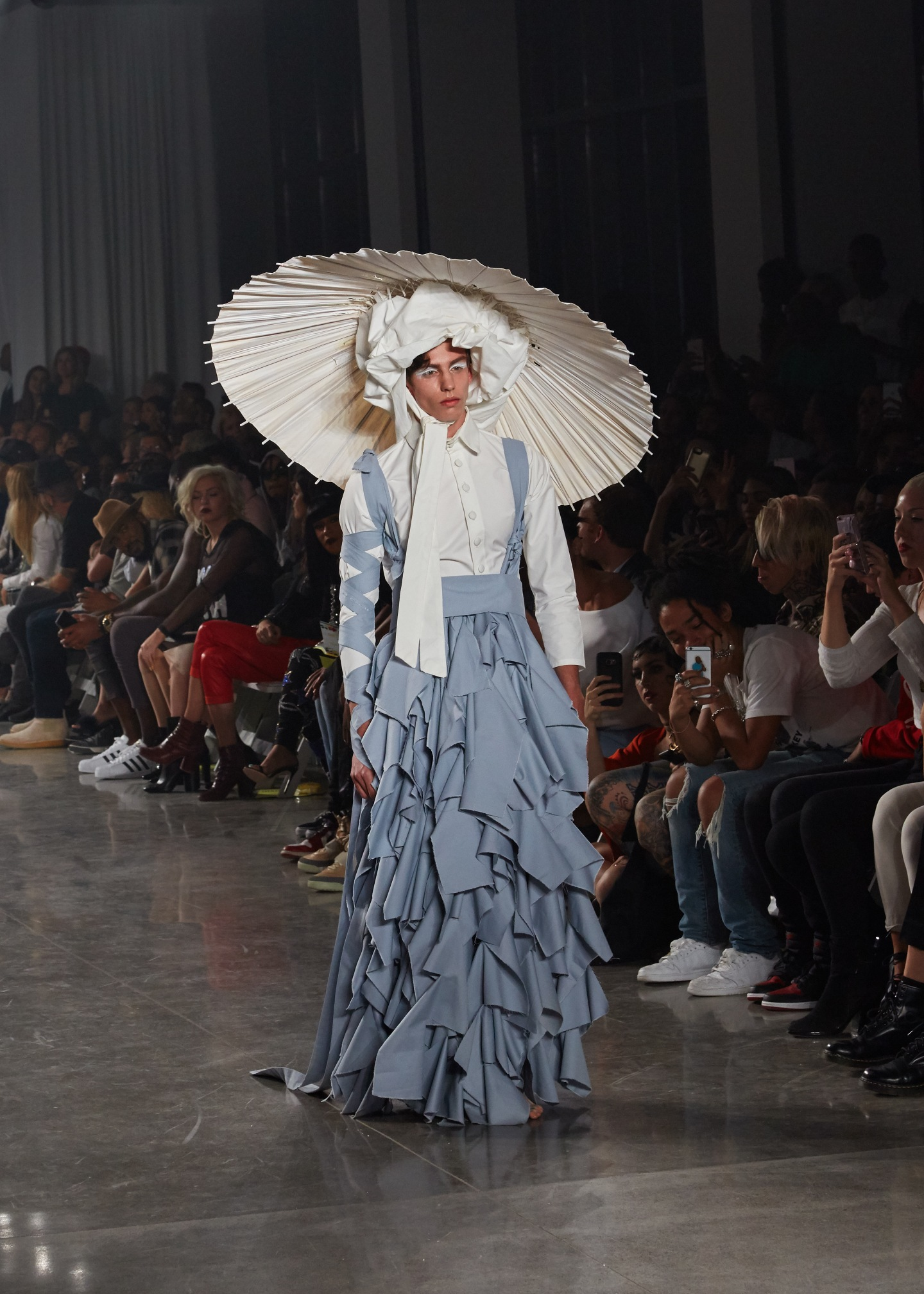 This Is What VFiles's Runway Show Was Actually Like
