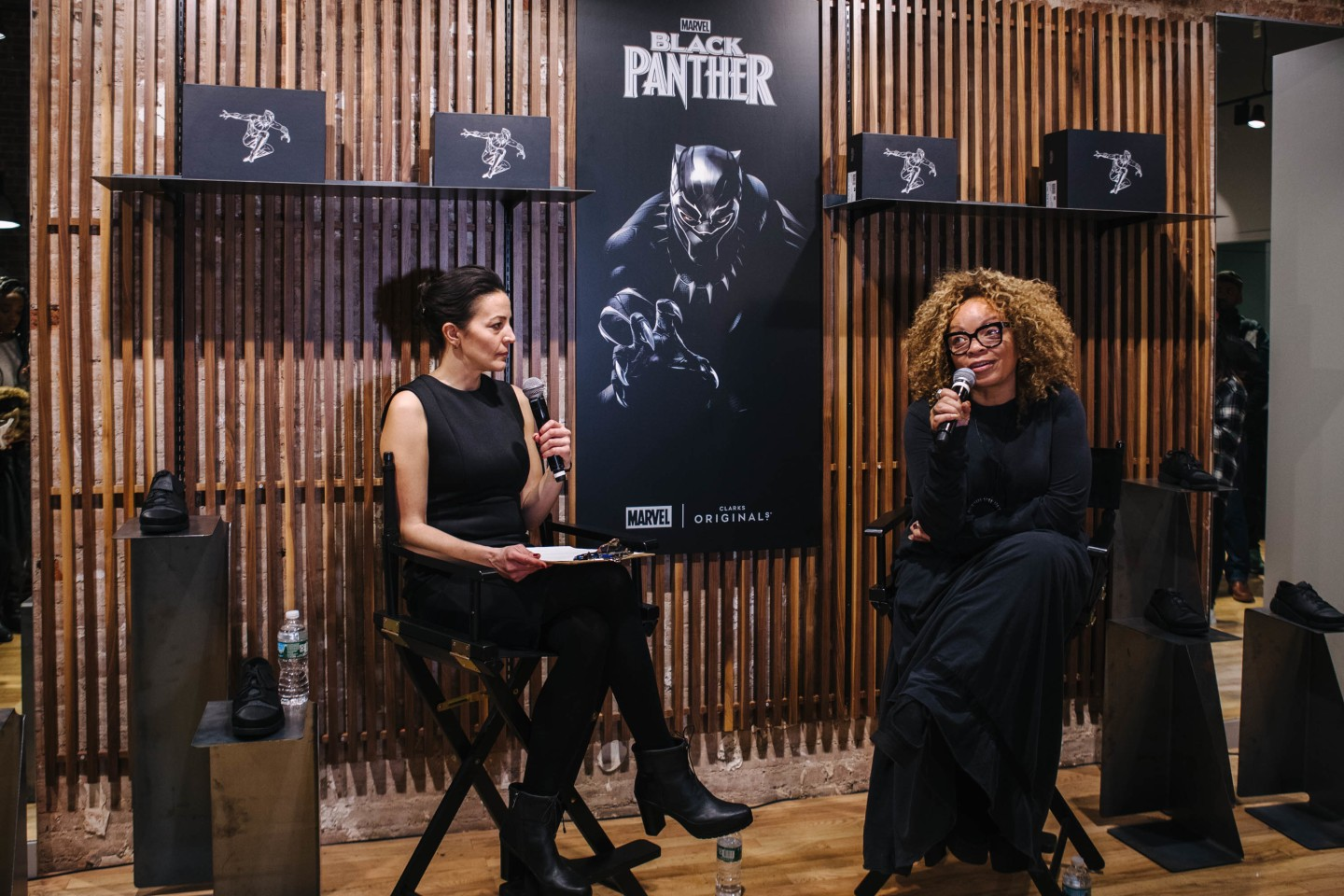 Clarks brought out Black Panther's costume designer to celebrate their new sneaker collab
