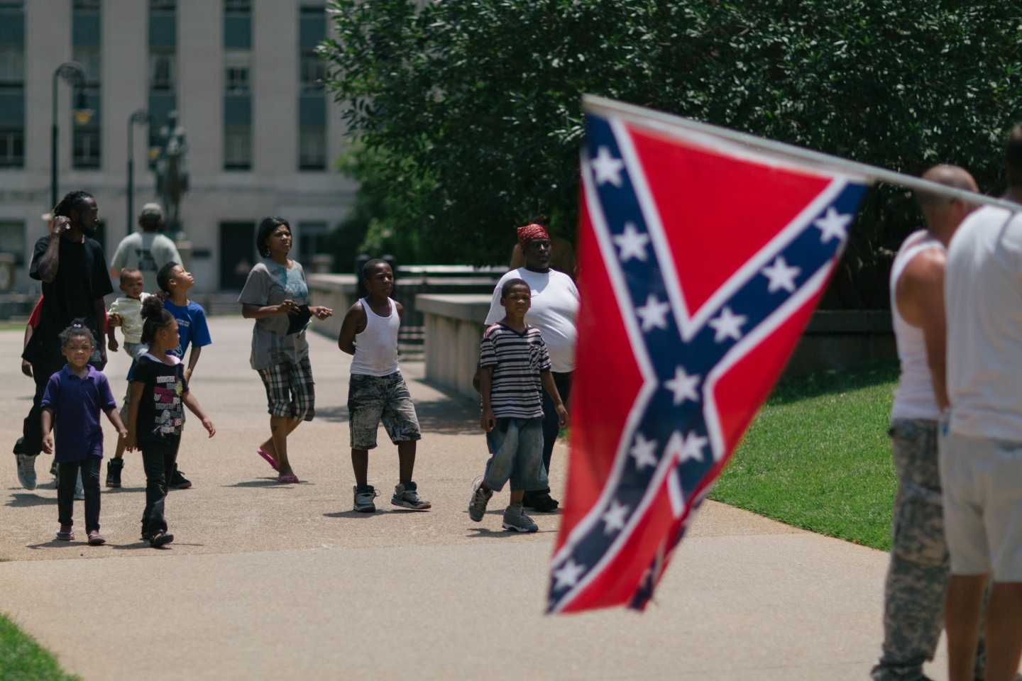This Is What South Carolina's Clashing Protests Actually Looked Like