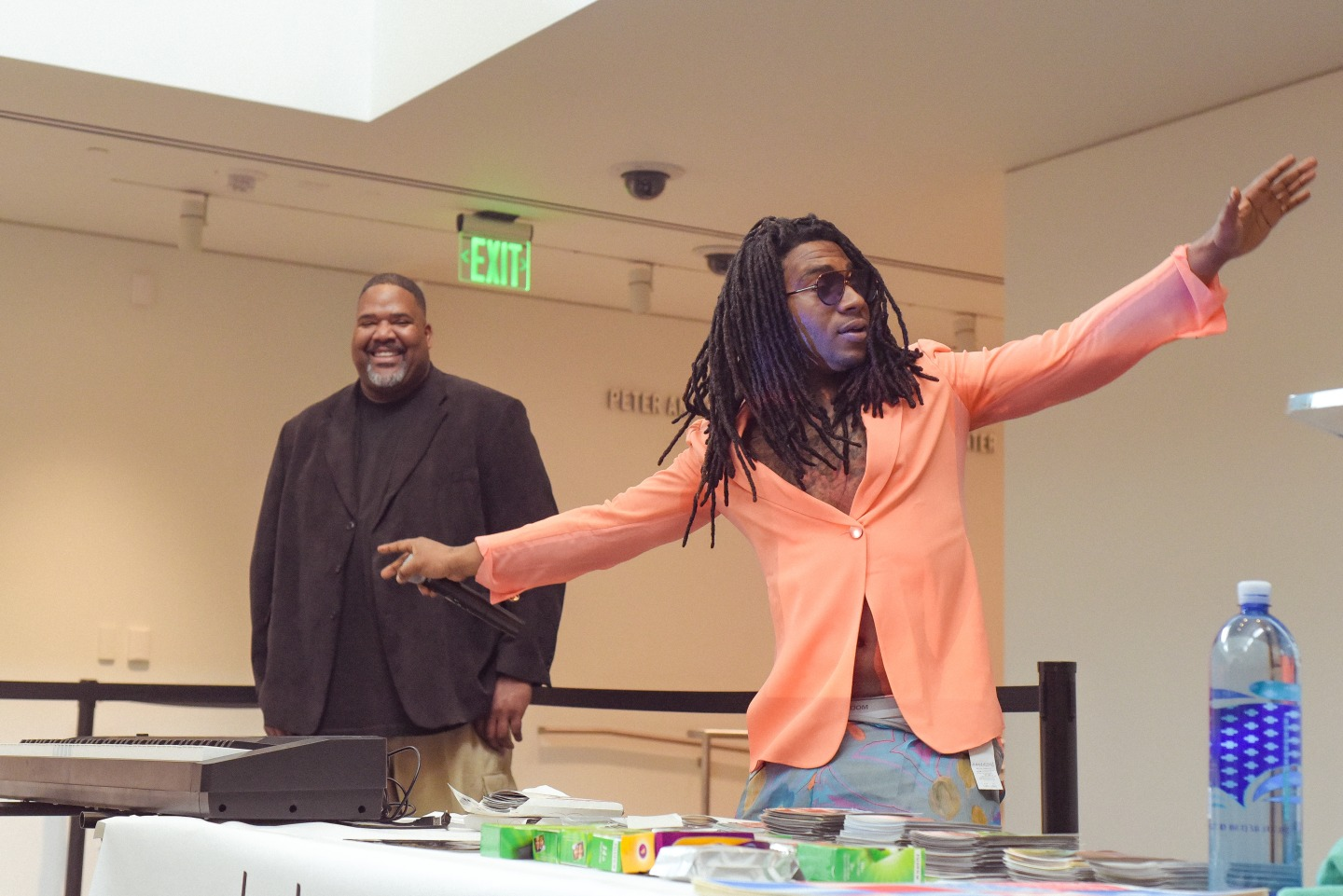 Lil B's first-ever art show was all about giving back