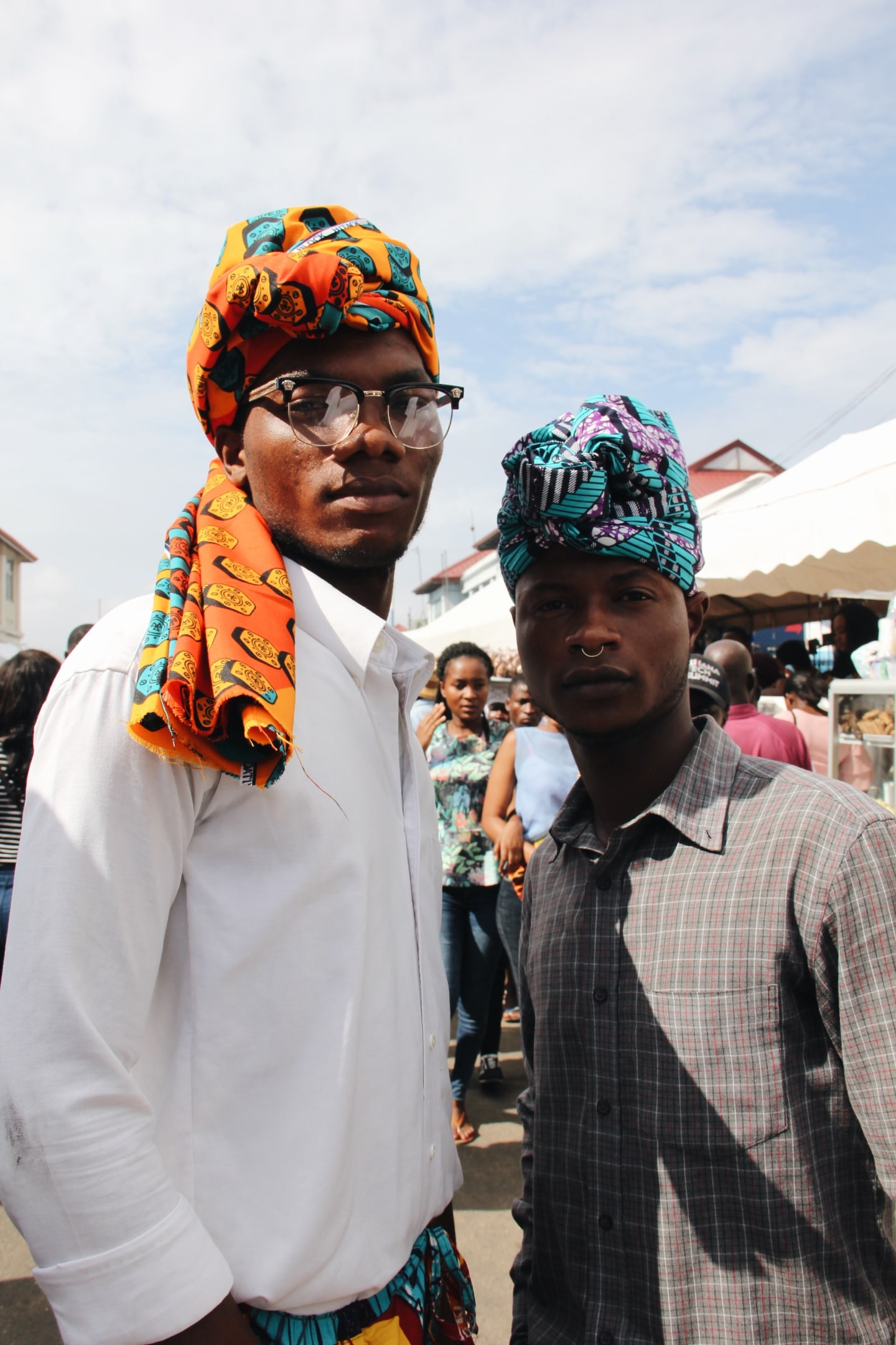 Accra's Chale Wote festival attendees were peak chill elegance