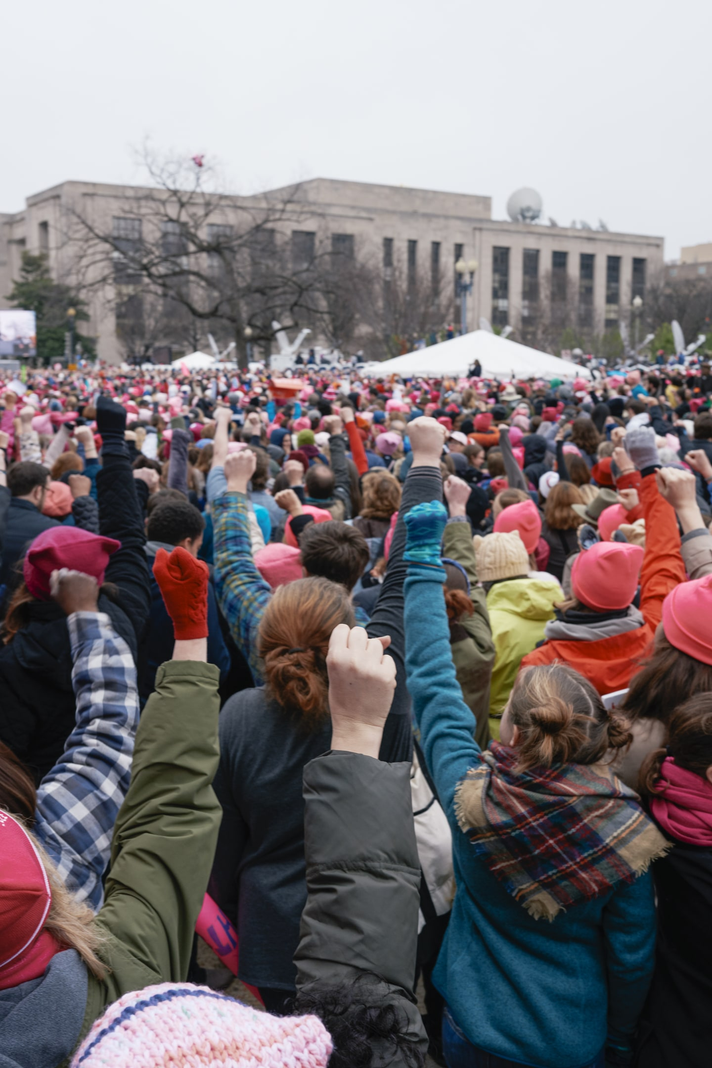 The Faces Of Resistance At Washington D.C.'s Women's March