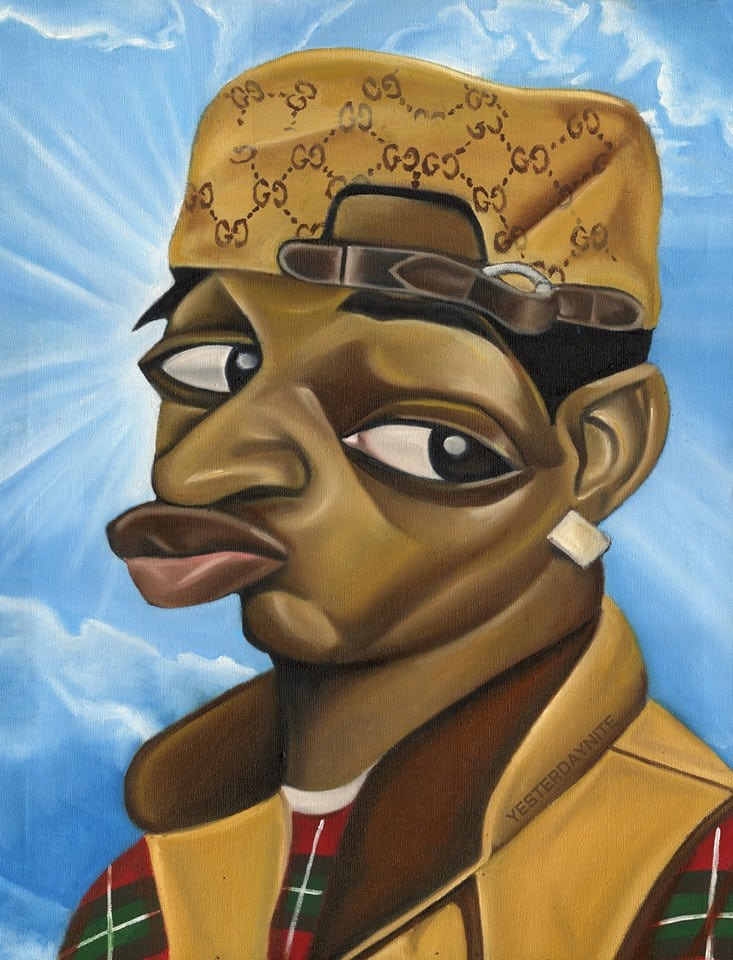 Alim Smith's Surreal Paintings Pay Homage To Black Icons And Memes
