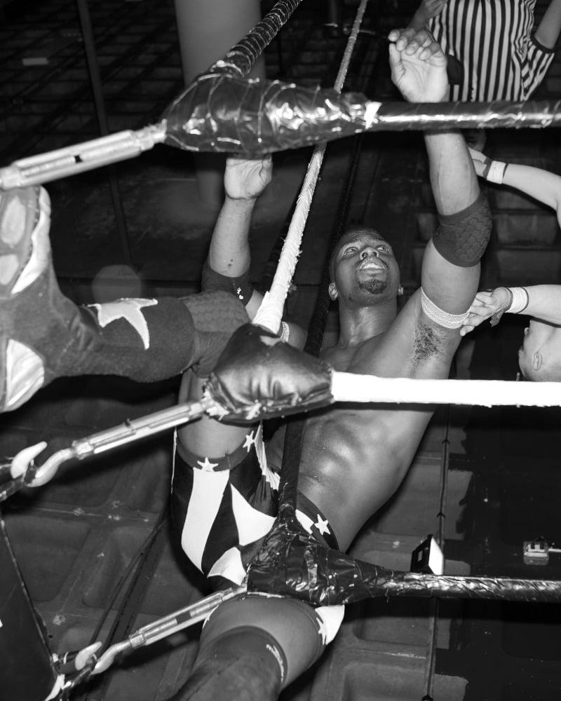 Elle Perez's Breathtaking Photos Of Underground Wrestlers In The Bronx