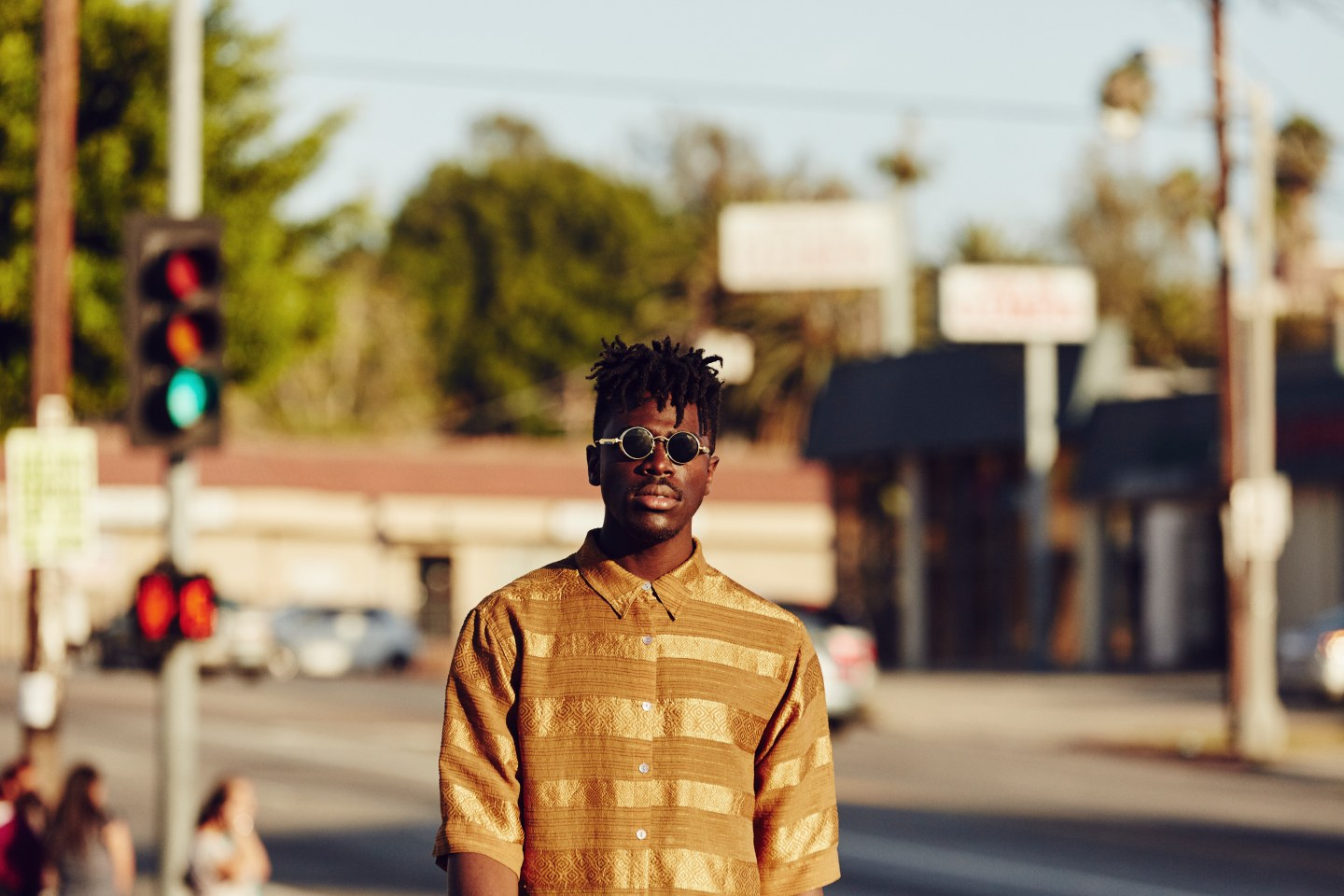 Moses Sumney Pipes Up