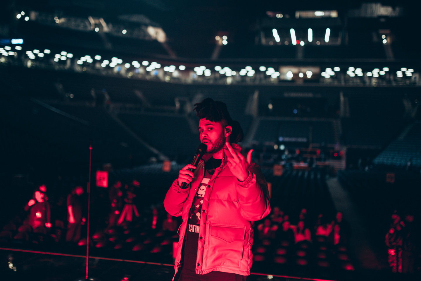 What It's Really Like To Be On Tour With The Weeknd And Travis Scott