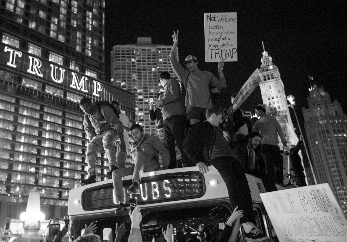 "Donald Trump Said Protests Are ""Small"" And ""Unfair."" Here Are The Real People Making A Big Statement Across America."