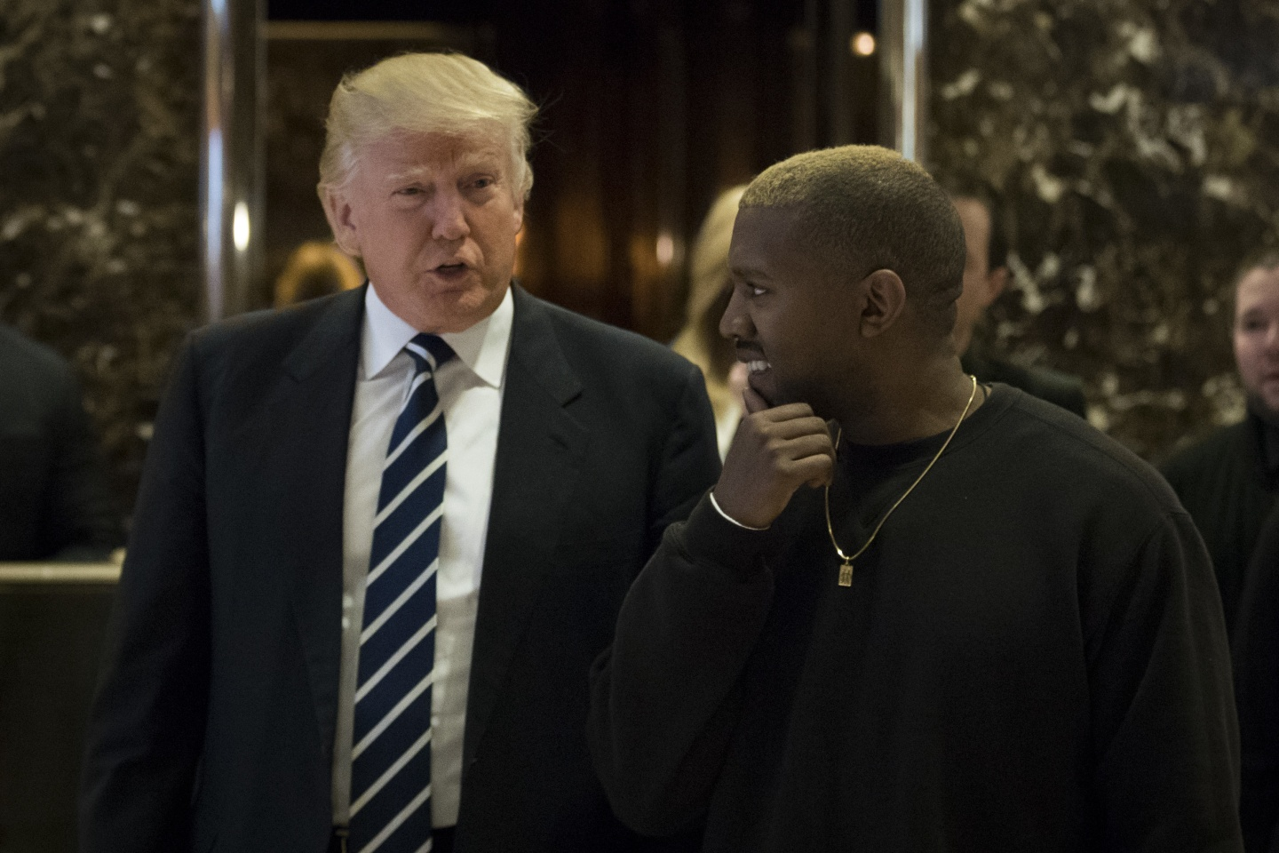 "Maybe We Shouldn't Be Surprised That Kanye And Trump Are ""Friends"""