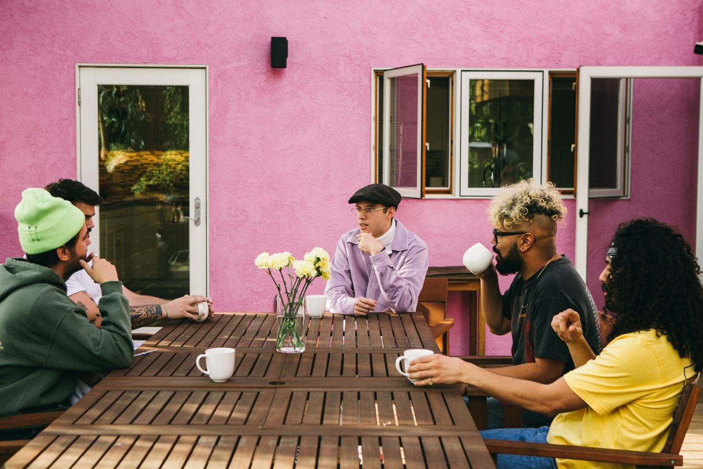 Harry Hudson and Jaden Smith Get Real About Life