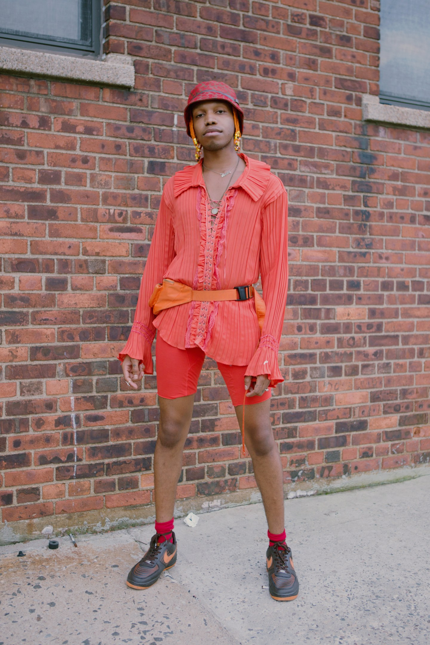 People who went to Hypefest turned fall style super bright