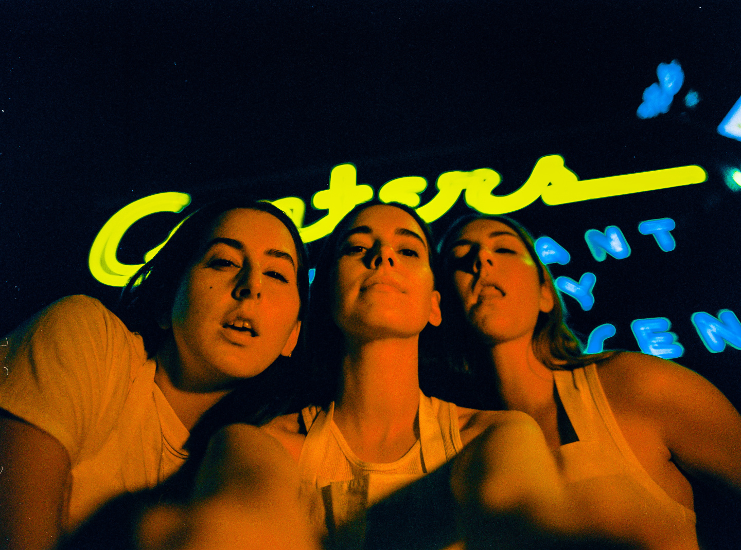 HAIM have been down