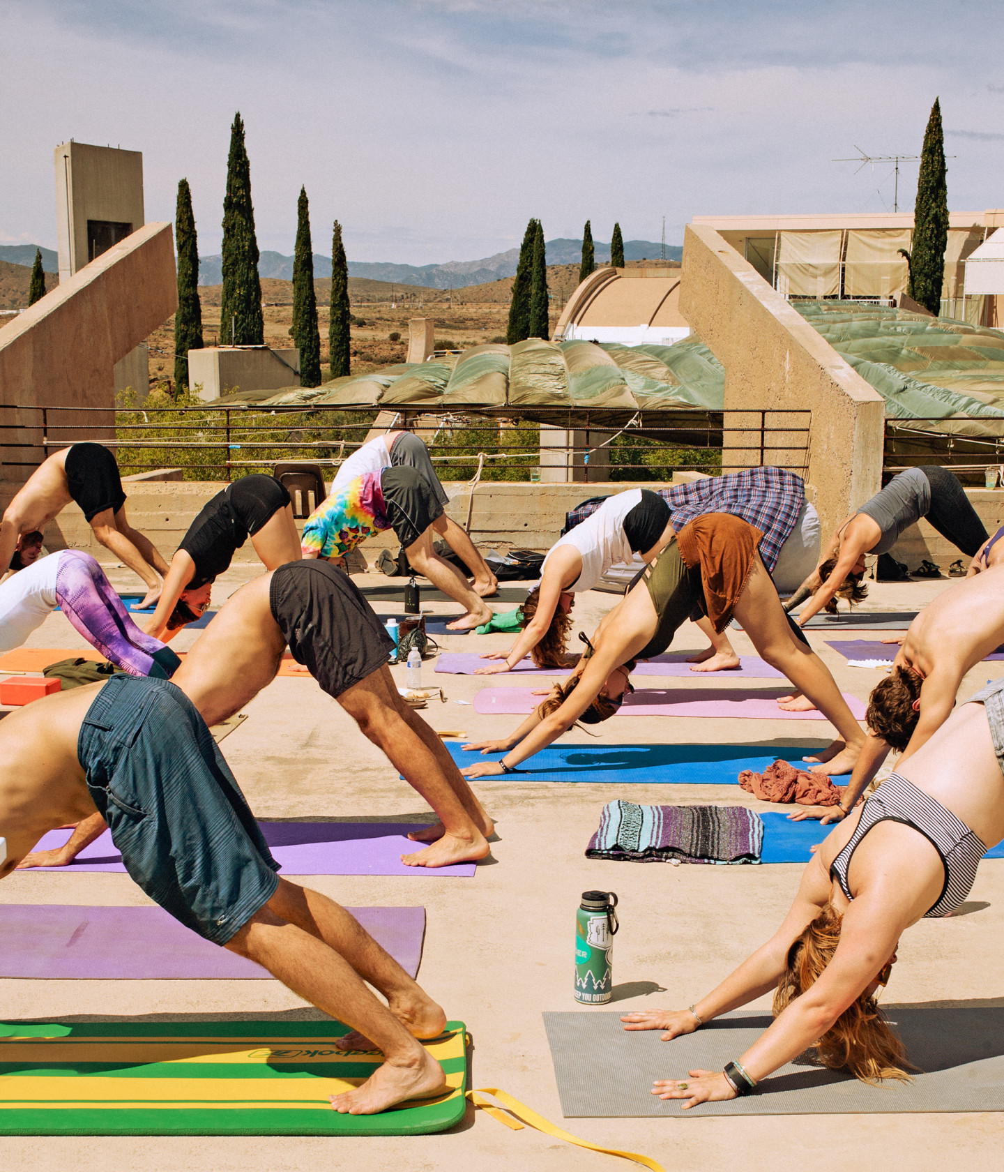 23 Photos That Prove FORM Arcosanti Is America's Most Unique Festival