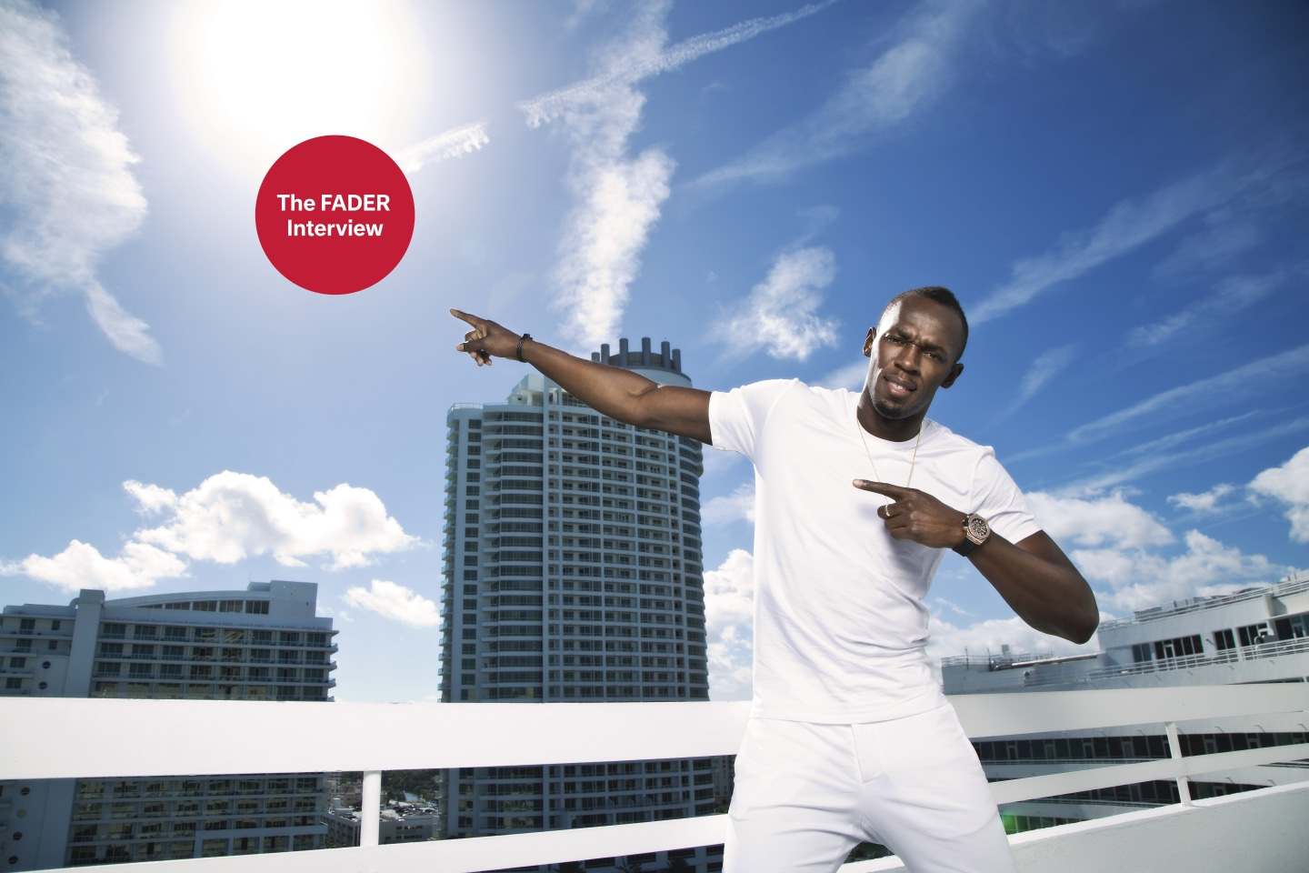 Usain Bolt on switching focus from the track to the dance floor