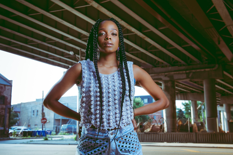 "Jamila Woods sounds amazing on NE-HI's ""Times I'm Not There"""