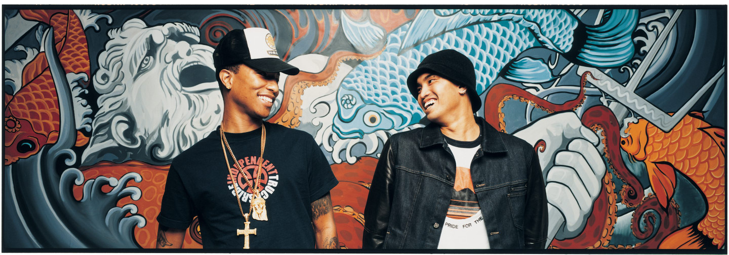 Pharrell Williams and Chad Hugo have always been magical