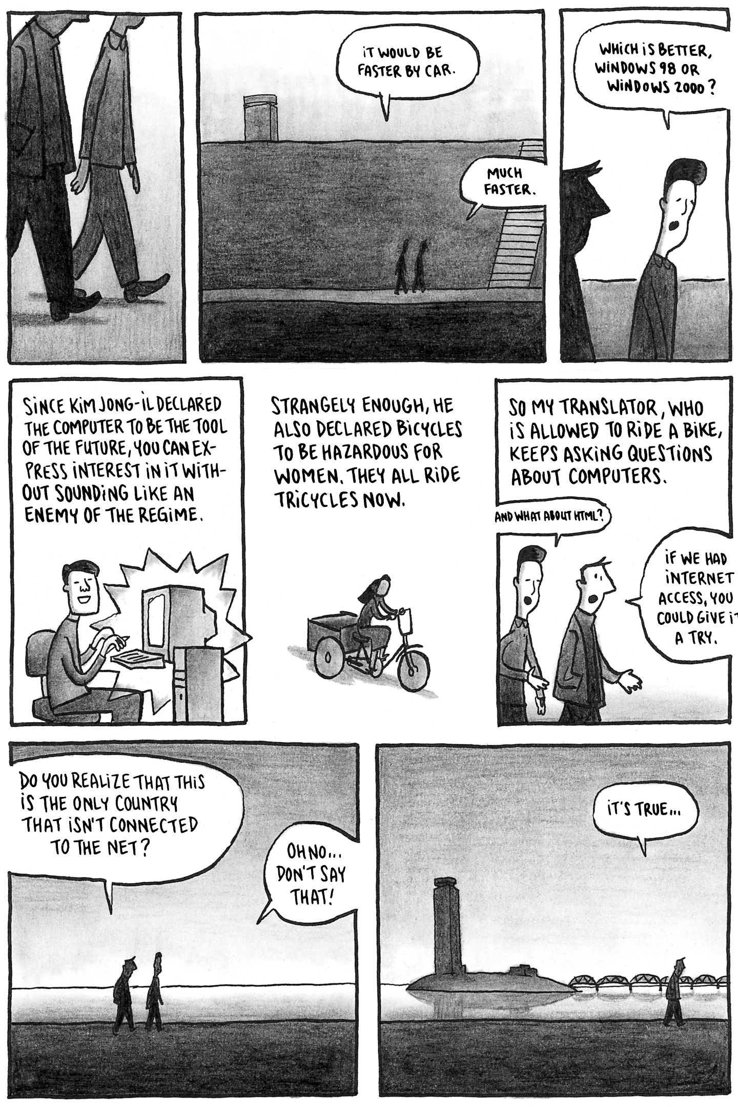 If You Want To Know What North Korea Is Really Like, Read This Graphic Novelist