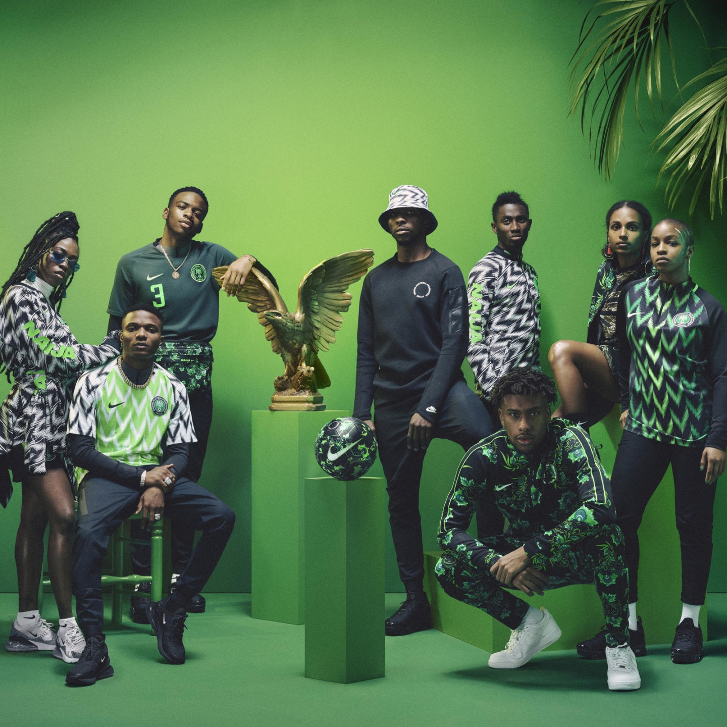 How Nike turned Nigeria's World Cup kit into a fashion phenomenon
