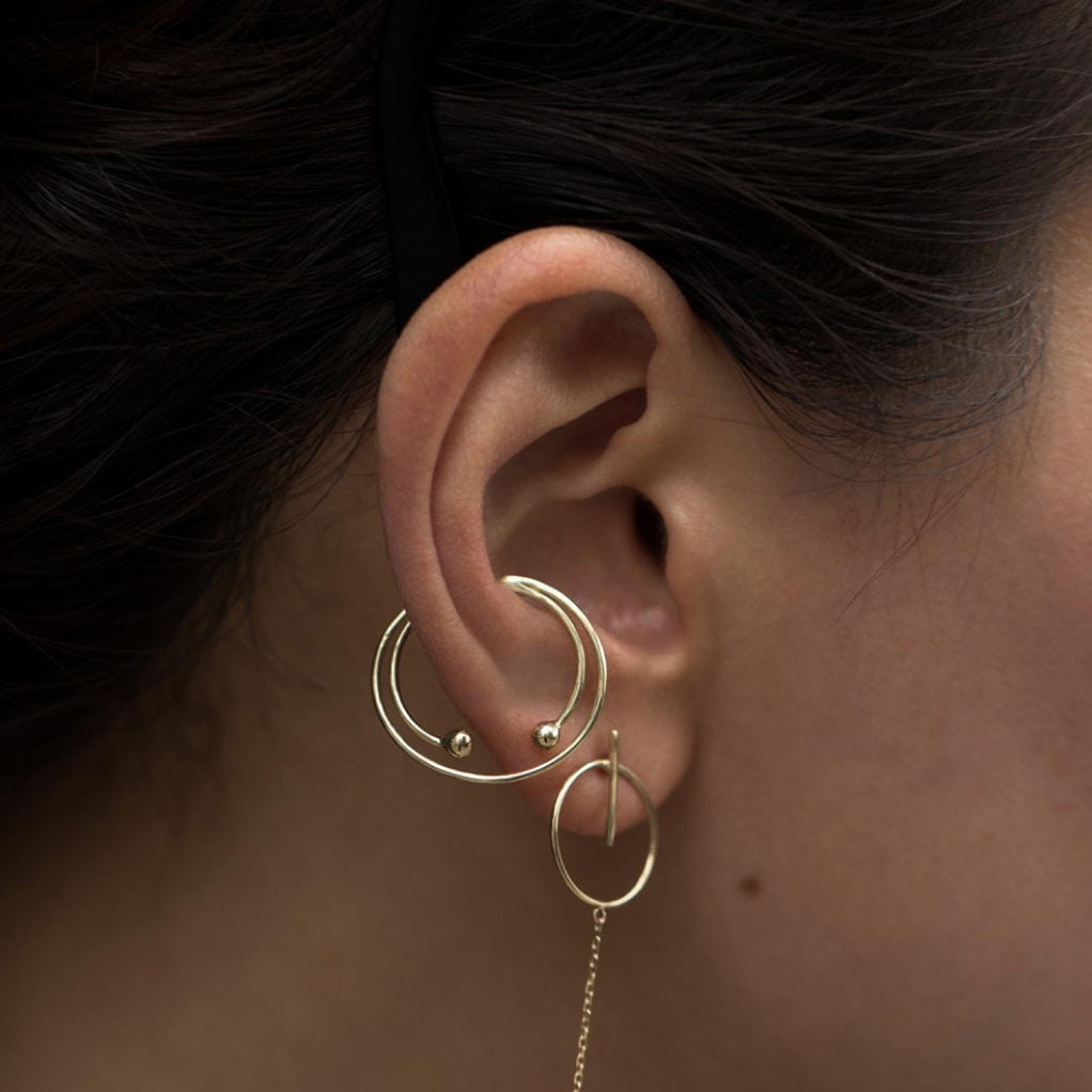 6 cool as hell earrings for non-pierced ears