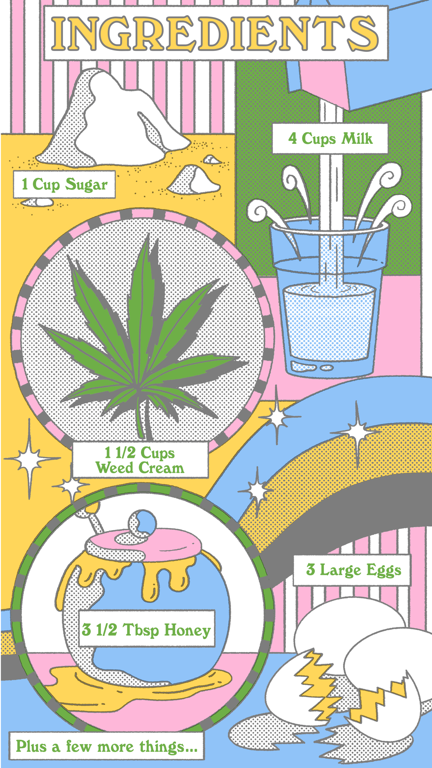 This is the easiest way to make weed ice cream